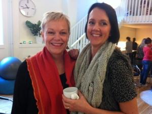 Anne och Sofia från Skövde