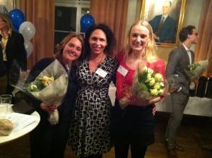 Hanna, Anna o Josefine på årets affärskreatör 2013