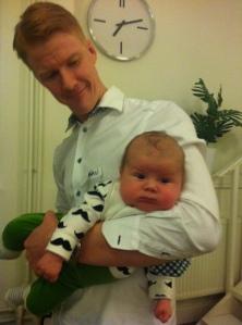 Pappa Johan m sonen Albin ff kurs feb 2014